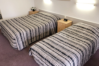 Twin Room at Eureka Lodge Motel - Ballarat